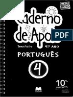 Caderno de Apoio Lingua Portuguesa