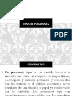 Tipos de Personajes