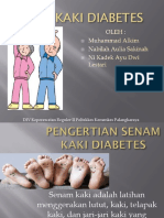 Ppt Senam Kaki Diabetes