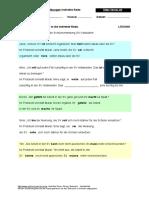 11 Indirekte Rede Uebung Arbeitsblatt Loesung