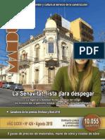 Revista MANDUA N 424 - AGOSTO 2018 - Paraguay - PortalGuarani