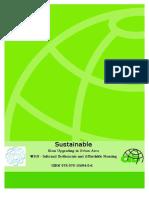 Sustainable slum upgrading in urban area- W110