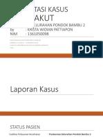 Presentasi Kasus KK Ta