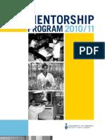 20102011 mentorship