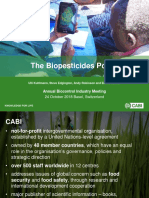 The Biopesticides Portal - Dr Ulrich Kuhlmann, ABIM Meeting October 2018
