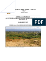 1. Honiara Urban Expansion Report
