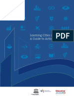 Learning City and SDGS