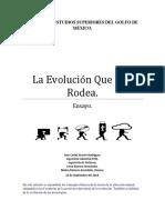 La Evolución Que Nos Rodea Cesar