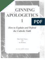 Beginning Apologetics 1