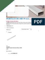 002 Perfiles de Drywall-precios Sodimac