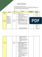 Planificacion Diaria Materia x
