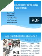 Rehabilitas Ekonomi pada Masa Orde Baru.pptx