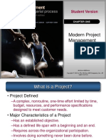 Chapter 1 - Modern Project Management