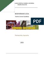 Biodiversidad Distrito Coronel Castañeda