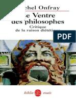 eBook-Gratuit.co-michel Onfray - Le Ventre Des Philosophes