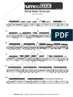 306 – 32nd Note Grooves