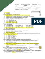 Unah-Vs II Periodo 2018 Examen Oscilaciones - Examen d