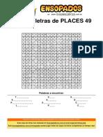 Sopa de Letras de Places 49