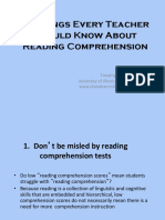 10-things-every-teacher-should-know-about-reading-comprehension.ppt