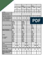 PreK Assessment Freebie Pack