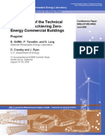 Assessment of the Technical Zero Energy