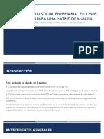 Responsabilidad Social Empresarial en Chile(1)...