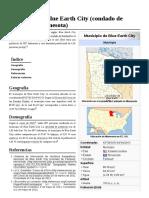 Municipio de Blue Earth City (Condado de Faribault, Minnesota)