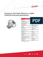 Campana LED High Efficiency 100W 135lm_W Extreme Resistance 23
