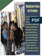 17-10-18 Realizan Feria  de Empleo