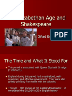The Elizabethan Age and Shakespeare.ppt