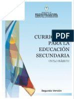 DNS - Currículum Ciclo Básico