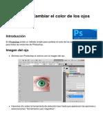 Photoshop - Cambiar El Color de Los Ojos