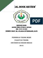 CRITICAL BOOK REview Filsafat Pendidikan by Agung vinel putra s. Depari