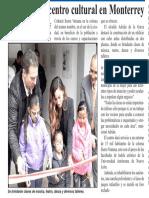 19-10-18 Rehabilitan centro cultural en Monterrey