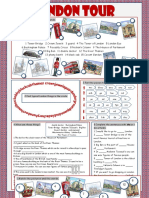 London Tour Vocabulary Exercises Icebreakers Oneonone Activities Reading Comprehens 32954
