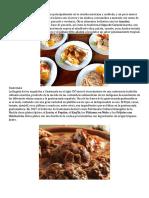 Comidas Tipicas de Centroamerica (por pais)