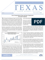 Texas Labor Market Review 9/2010