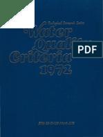 EPA 1972 Water Quality Criteria - Blue Book