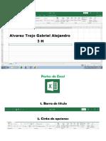 Ambiente de Excel Gabriel Alvarez Trejo
