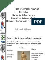 História epidemiologia