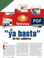 Denuncian a Televisa
