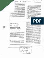 MILLER (1995). Marginalia de Milán Analisis Terminable e Interminable