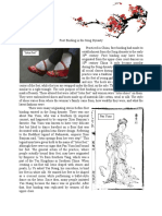 Foot Binding in the Song Dynasty