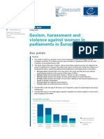 Sexism, harassment and violence against women in parliaments in Europe