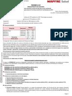 Presupuesto MAPFRE Salud