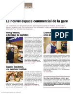 Nouvel Espace Commercial de La Gare Sqyent 73