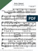 PietSignore High Voice in D Minor a.scarlatti Parisotti Schirmer PD 6pp