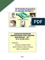 Curso de Proteção Respiratório Agentes Biológicos