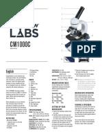 Microscope info
