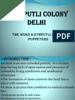 Kathputli Colony